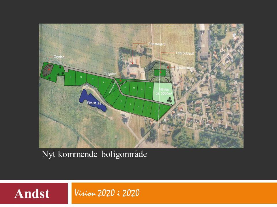 Vision 2020 i 2020 Andst Nyt kommende boligområde