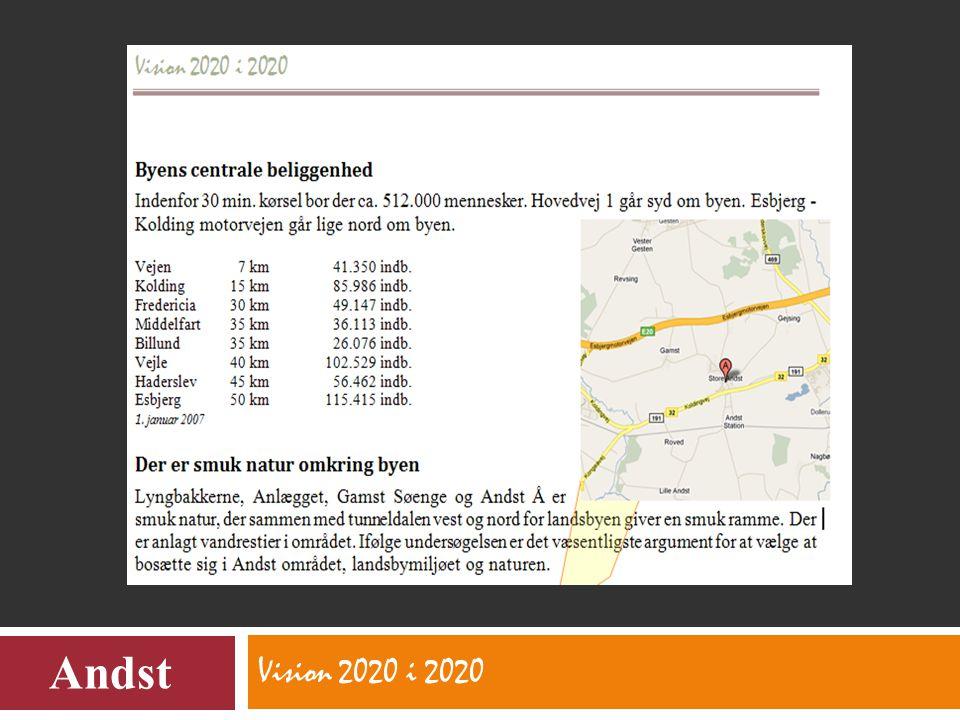 Vision 2020 i 2020 Andst