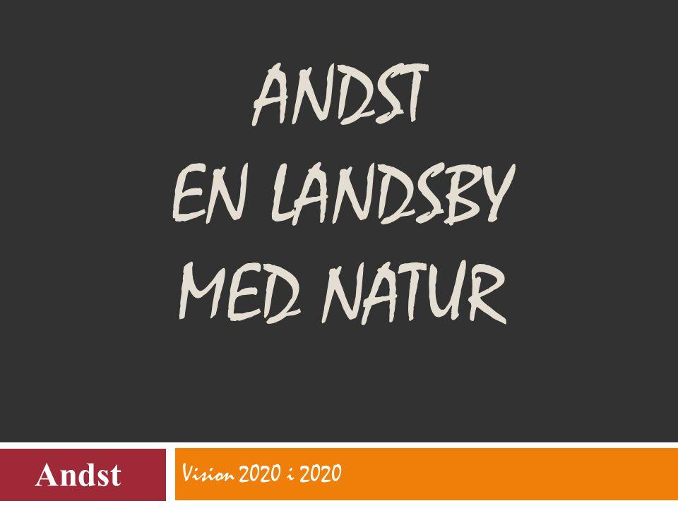 ANDST EN LANDSBY MED NATUR Vision 2020 i 2020 Andst