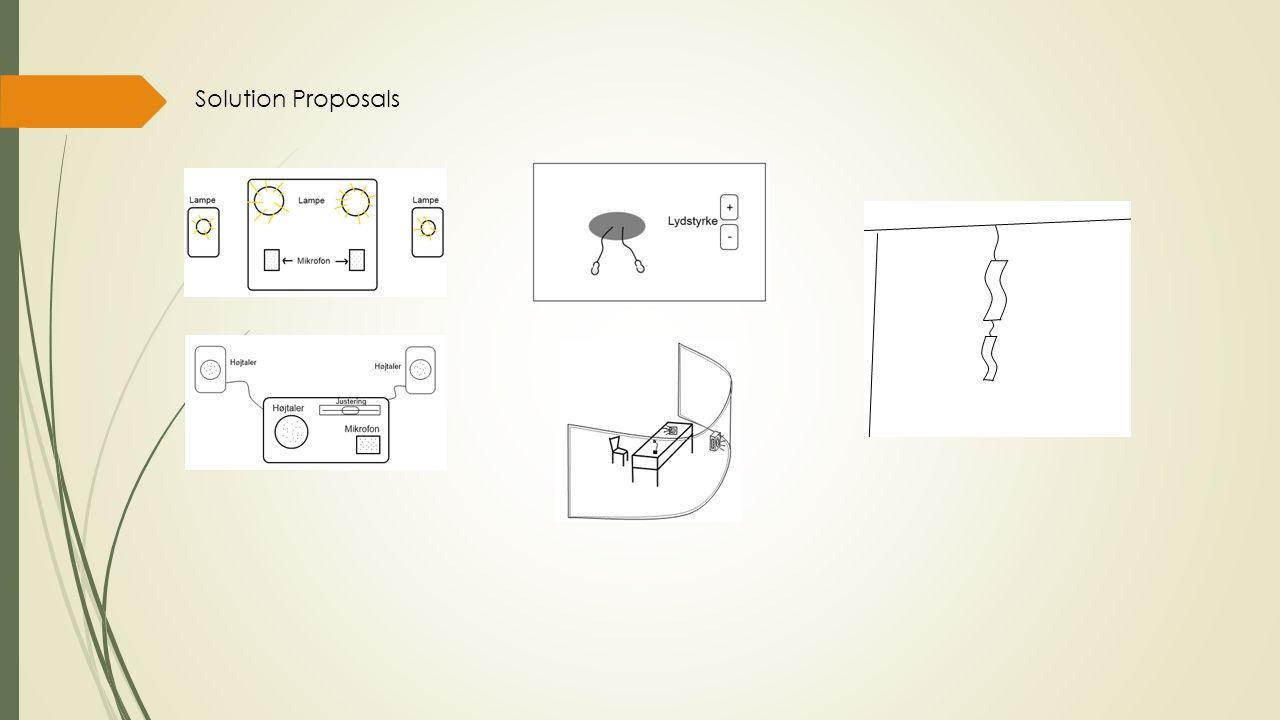 Solution Proposals