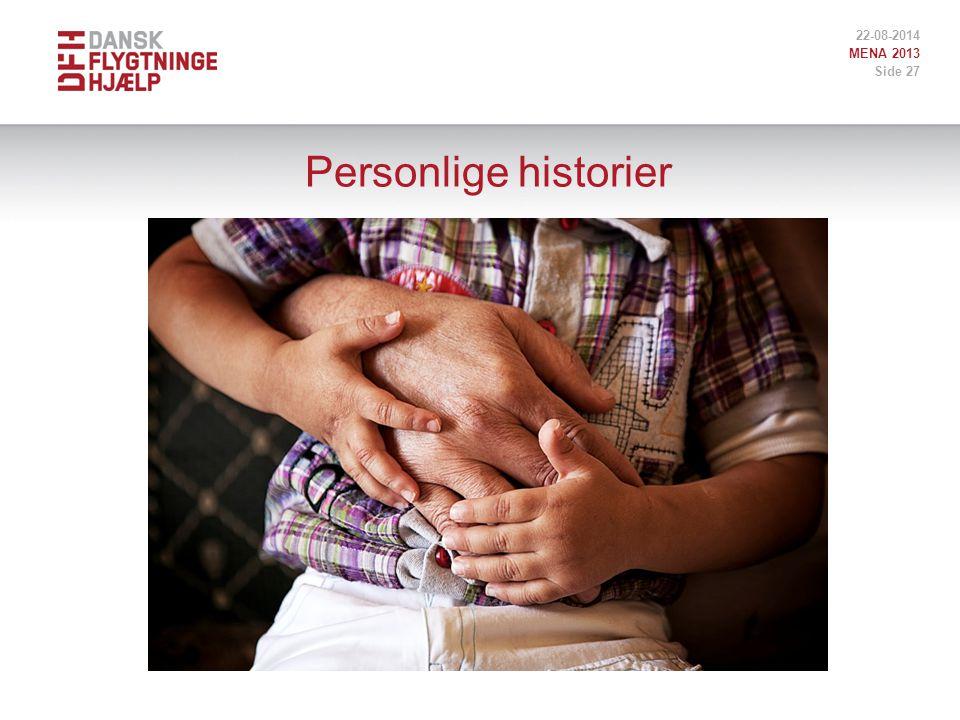 Personlige historier 22-08-2014 MENA 2013 Side 27