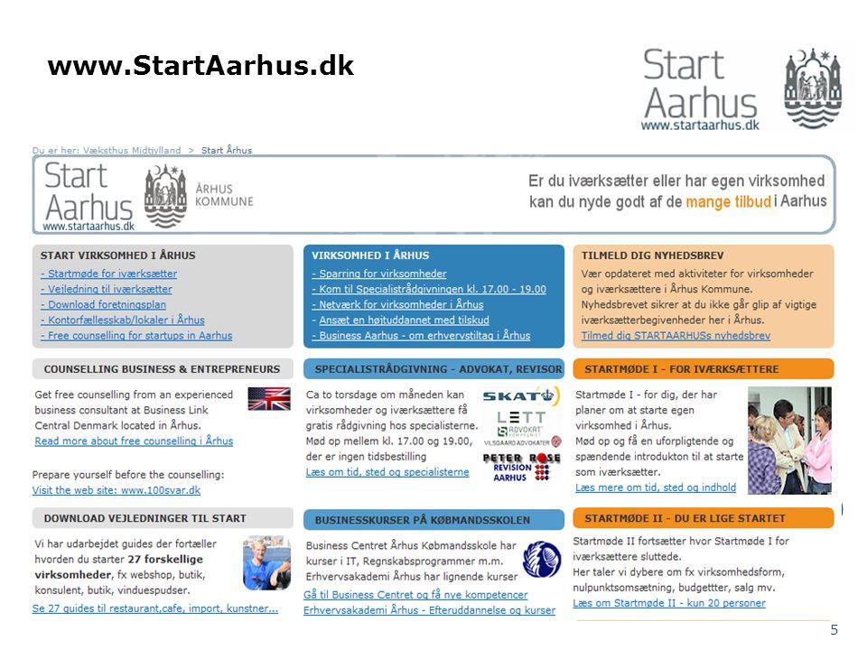 www.StartAarhus.dk 5