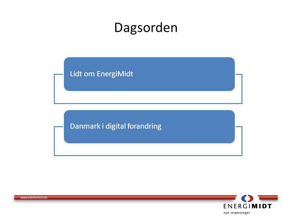 Dagsorden Lidt om EnergiMidt Danmark i digital forandring