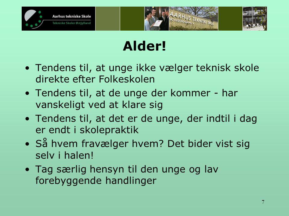 7 Alder.