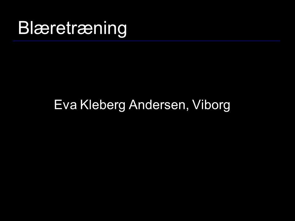 Blæretræning Eva Kleberg Andersen, Viborg