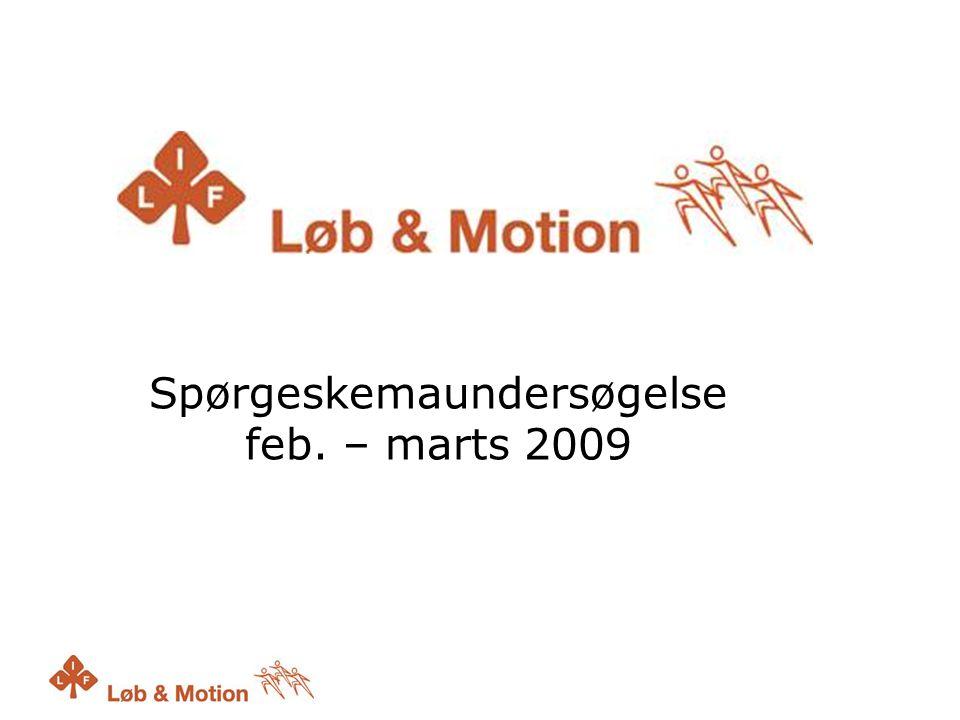 Spørgeskemaundersøgelse feb. – marts 2009