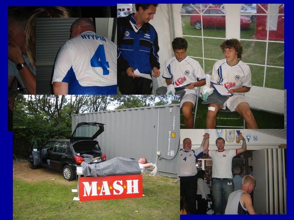 Sommeren 2005 IM Sommerfest. – stor succes!. DANA-CUP Hjørring –Masser af idrætsskader (ca.