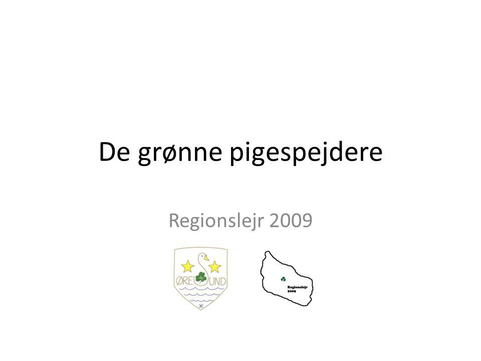 De grønne pigespejdere Regionslejr 2009