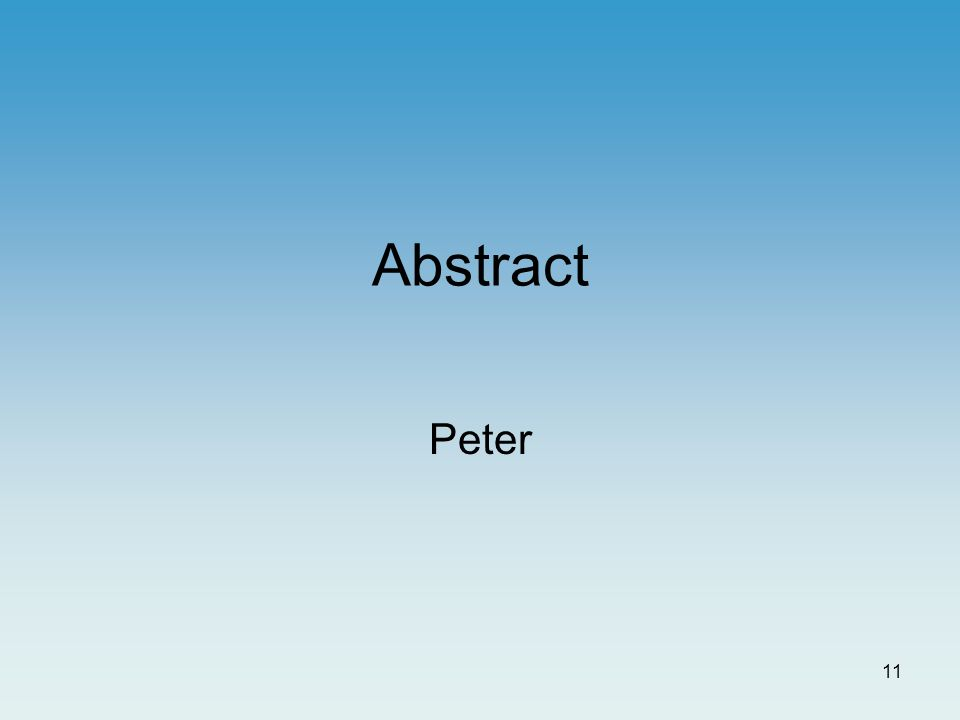 10 Kommunikative virkemidler Bygget op omkring IMRaD-modellen Centralt placerede figurer Selvforklarende figurer Kortfattet tekst Tekst underbygges af figurer