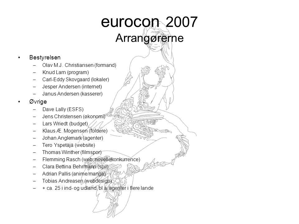 eurocon 2007 Arrangørerne Bestyrelsen –Olav M.J.
