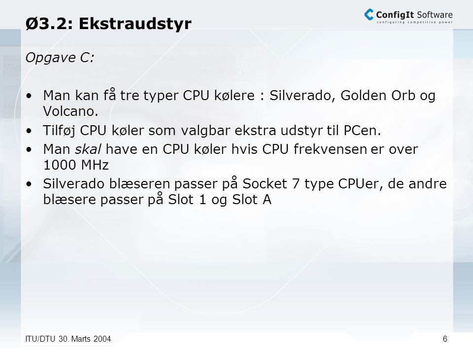 ITU/DTU 30.