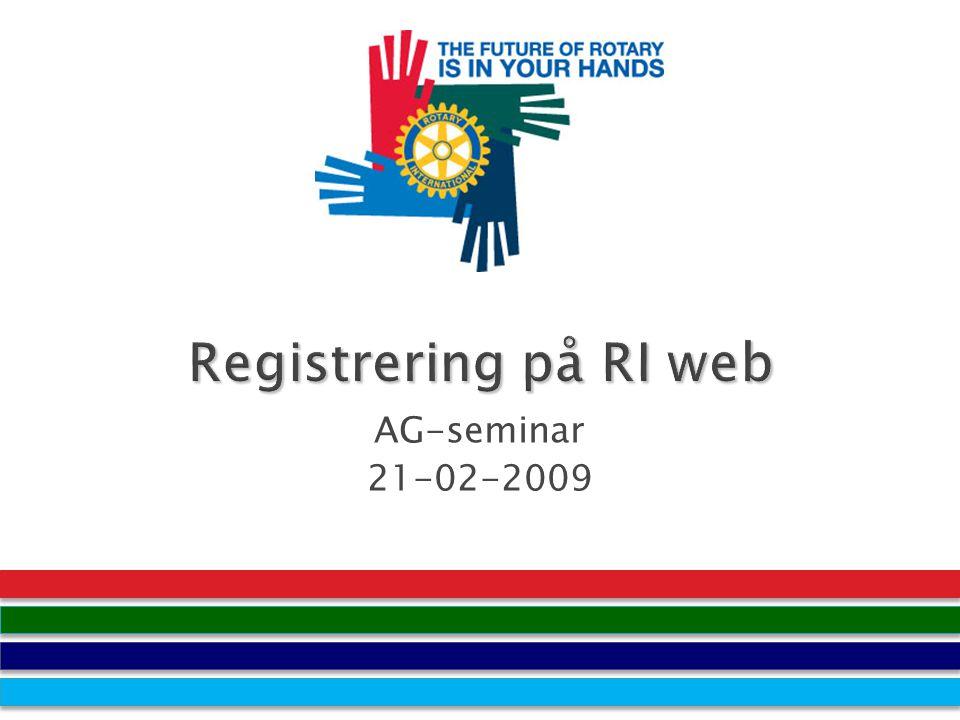 AG-seminar 21-02-2009