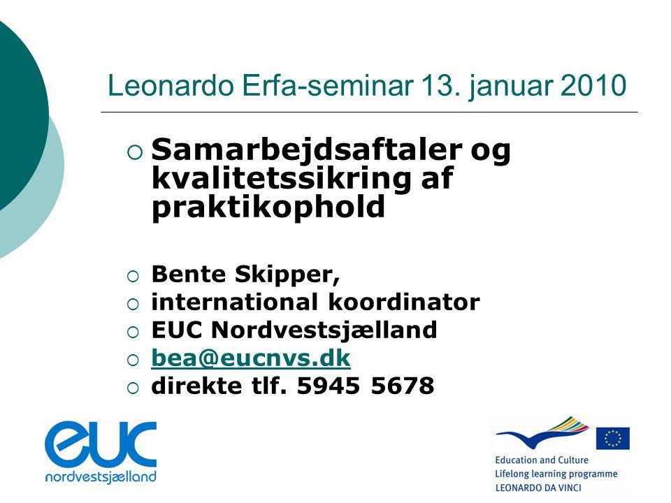 Leonardo Erfa-seminar 13.