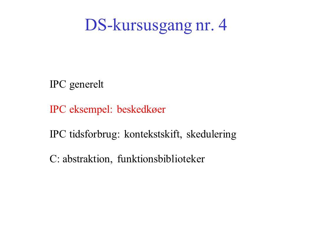 DS-kursusgang nr.