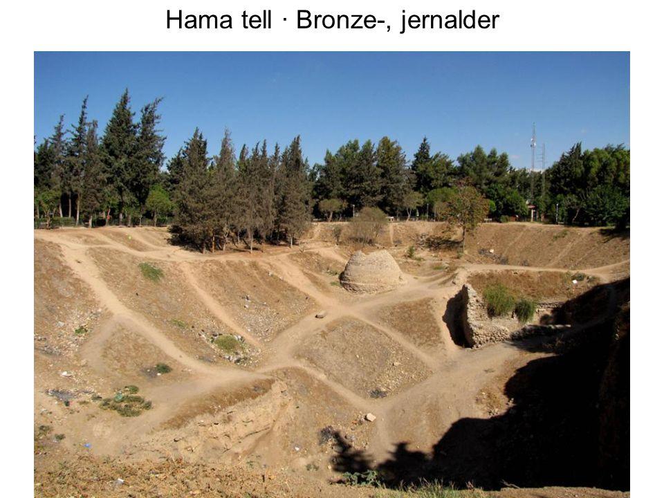 Hama tell · Bronze-, jernalder