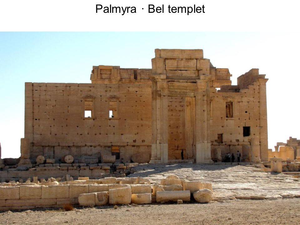 Palmyra · Bel templet