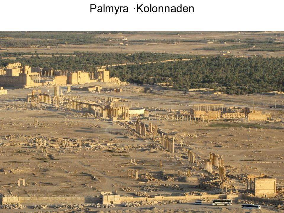 Palmyra ·Kolonnaden