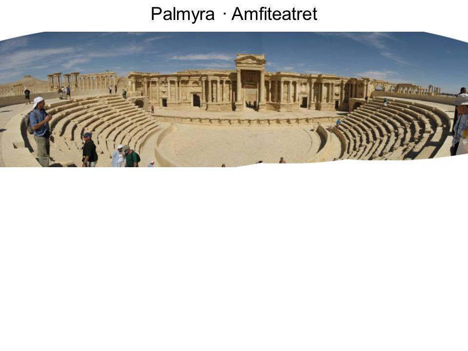 Palmyra · Amfiteatret