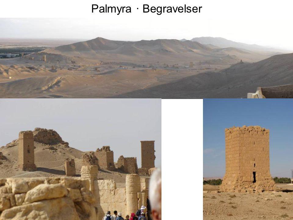 Palmyra · Begravelser