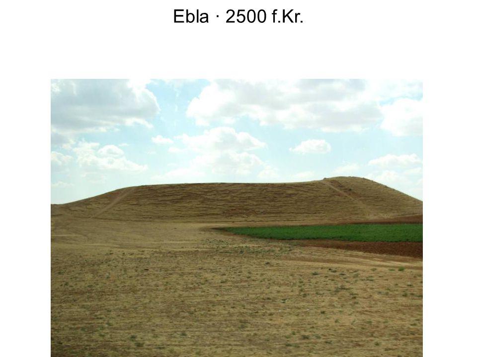 Ebla · 2500 f.Kr.