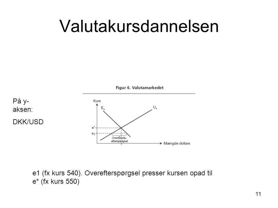 11 Valutakursdannelsen e1 (fx kurs 540).