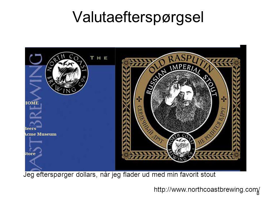 8 Jeg efterspørger dollars, når jeg flader ud med min favorit stout http://www.northcoastbrewing.com/ Valutaefterspørgsel