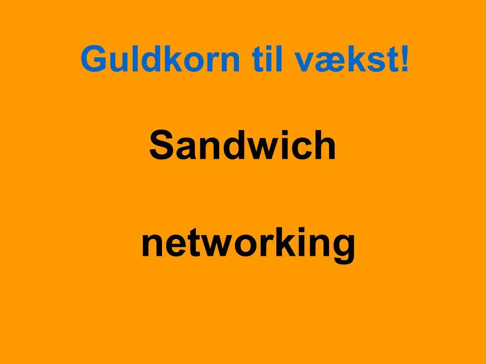 Guldkorn til vækst! Sandwich networking
