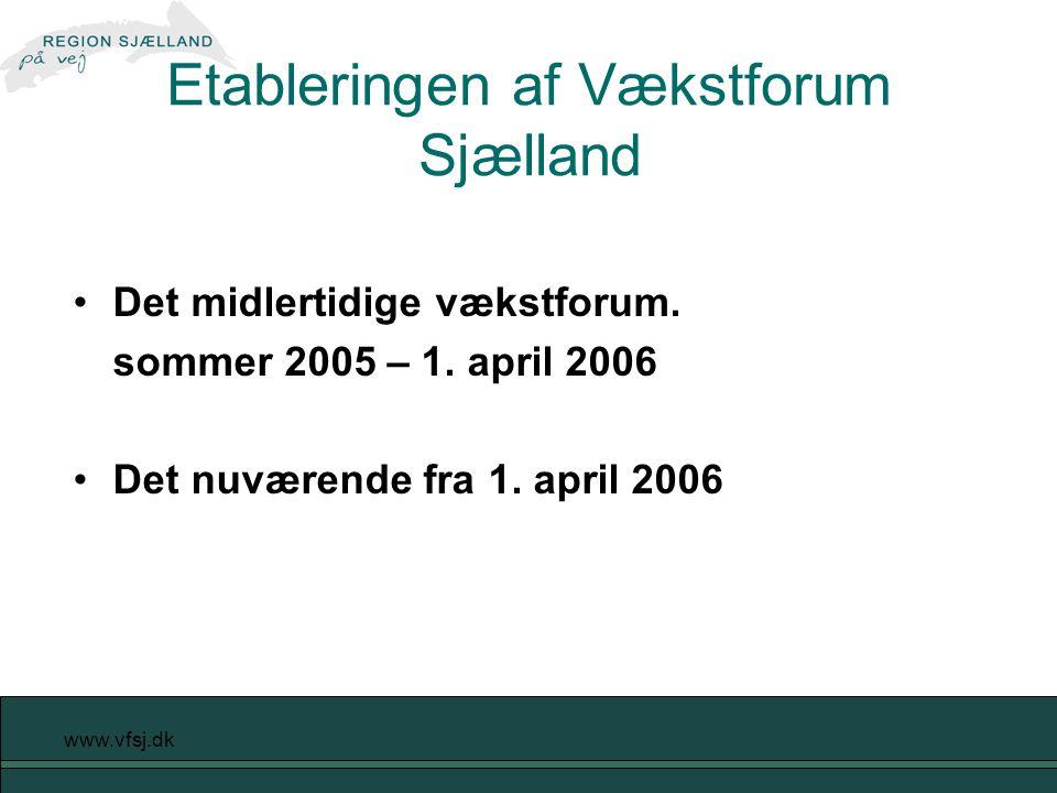 www.vfsj.dk Det midlertidige vækstforum. sommer 2005 – 1.