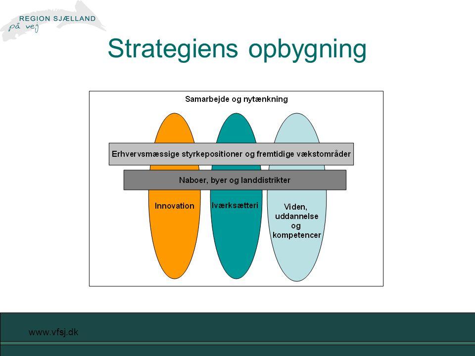 www.vfsj.dk Strategiens opbygning