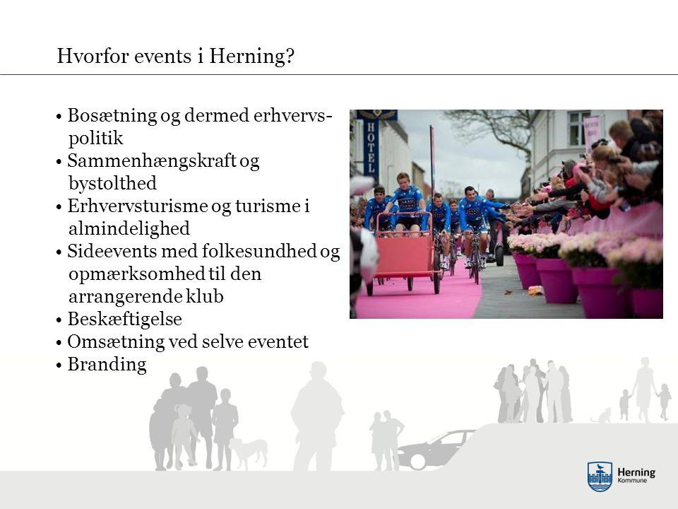 Hvorfor events i Herning.