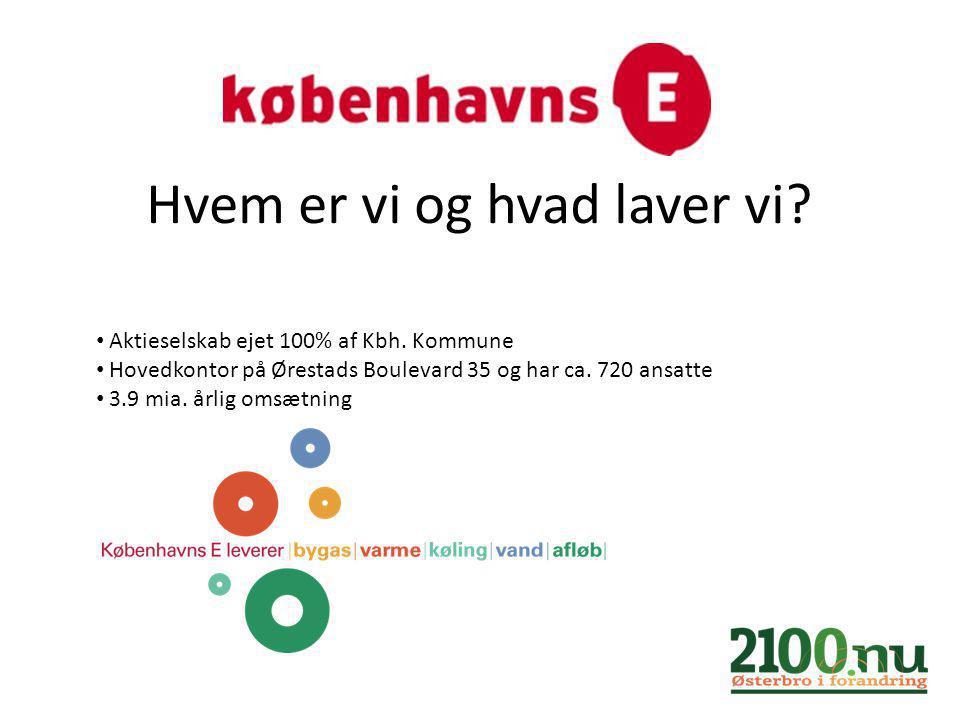 Hvem er vi og hvad laver vi. Aktieselskab ejet 100% af Kbh.