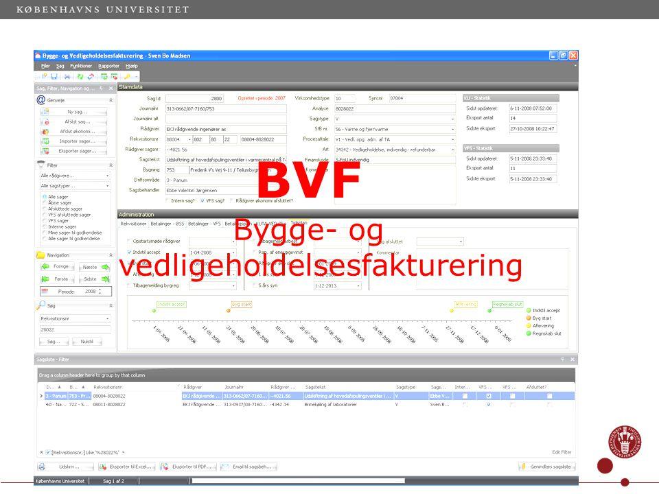 Dias 19 BVF Bygge- og vedligeholdelsesfakturering