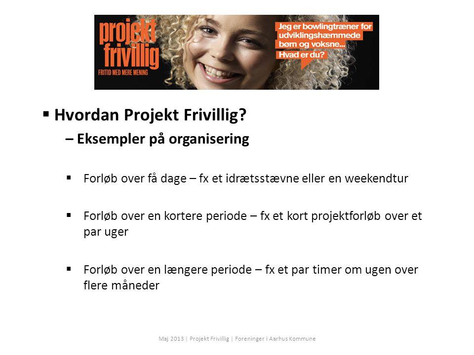  Hvordan Projekt Frivillig.