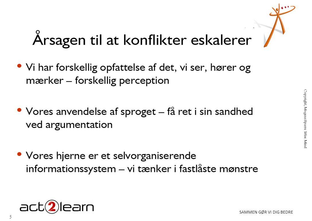 5 SAMMEN GØR VI DIG BEDRE Copyright; Mogens Sparre Wise Mind