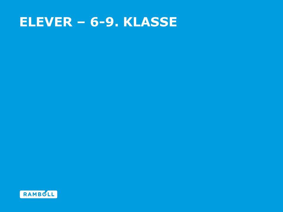 ELEVER – 6-9. KLASSE