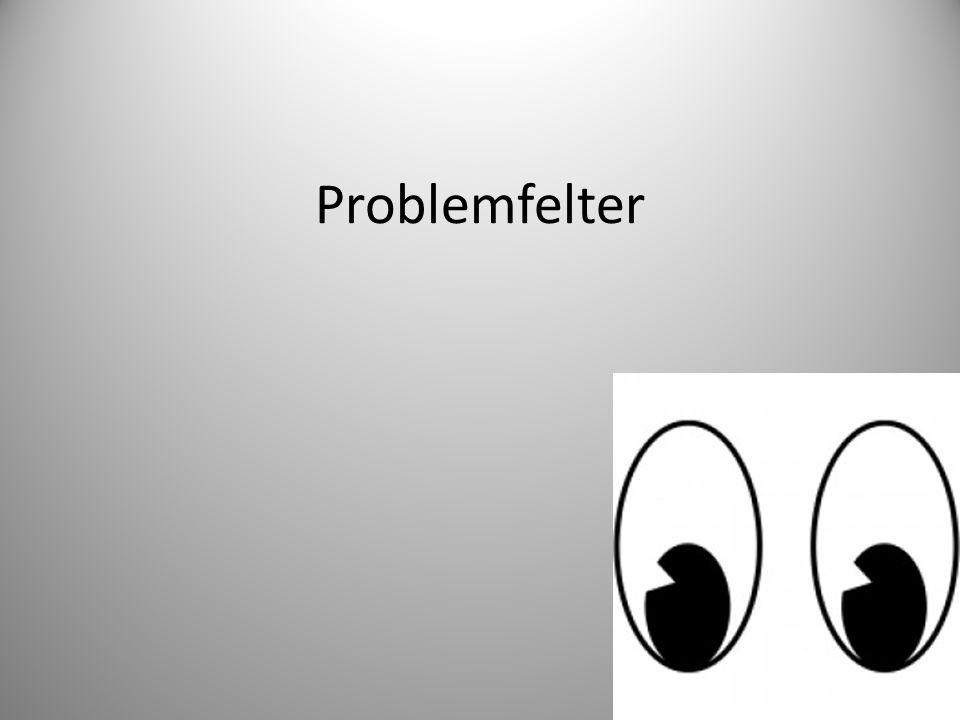Problemfelter