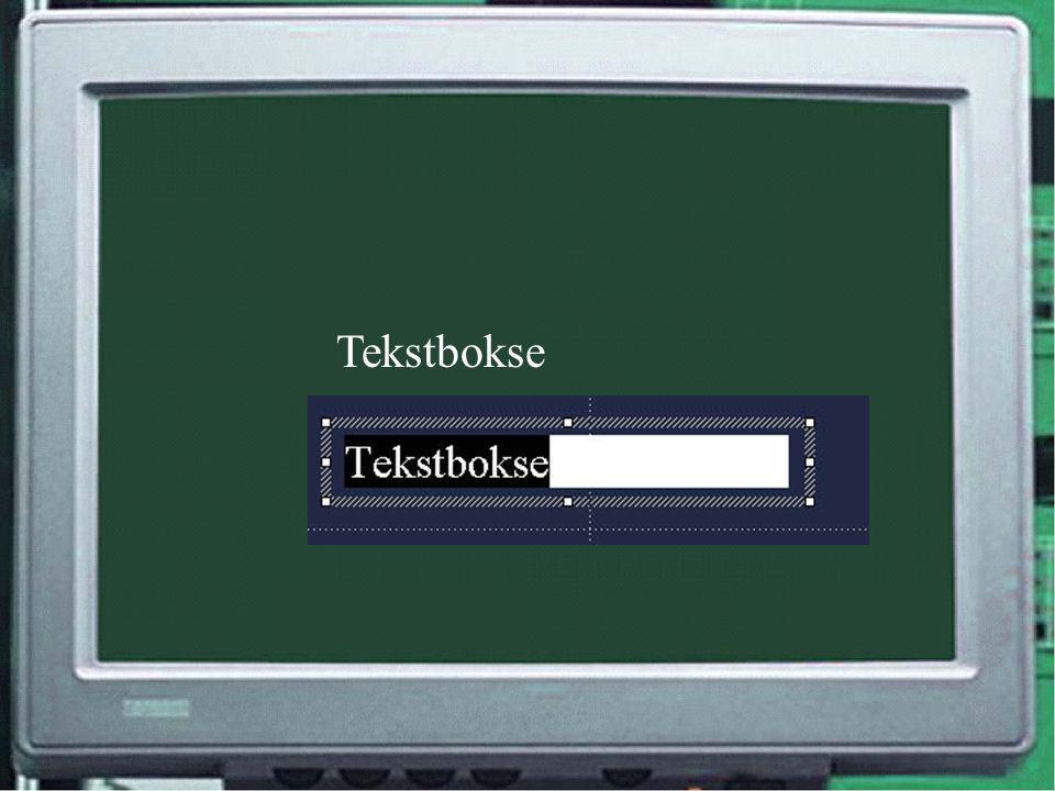Tekstbokse