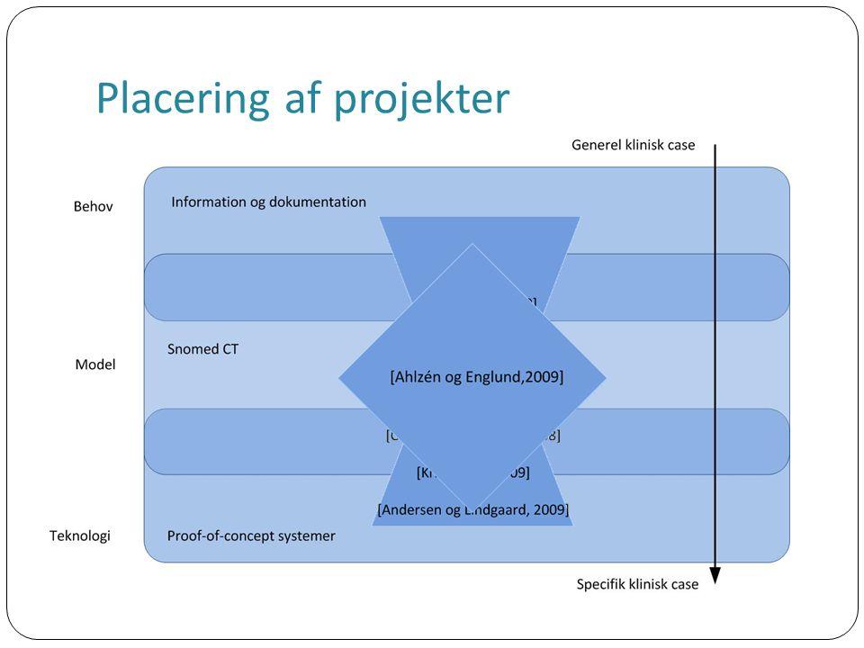 Placering af projekter