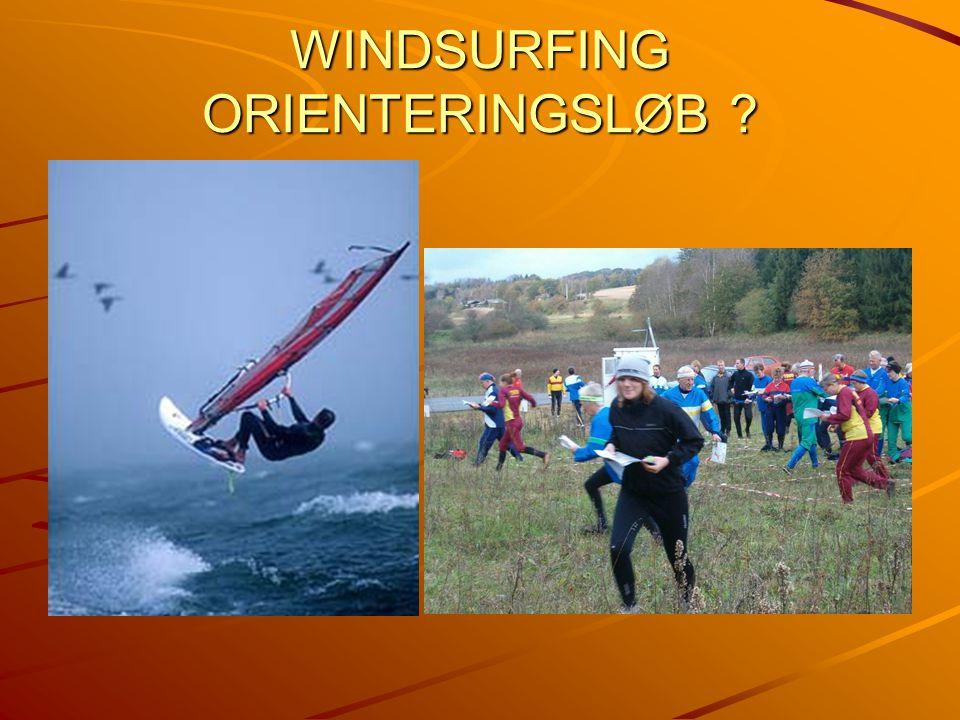 WINDSURFING ORIENTERINGSLØB