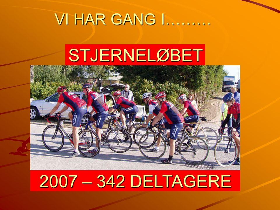 VI HAR GANG I……… STJERNELØBET 2007 – 342 DELTAGERE