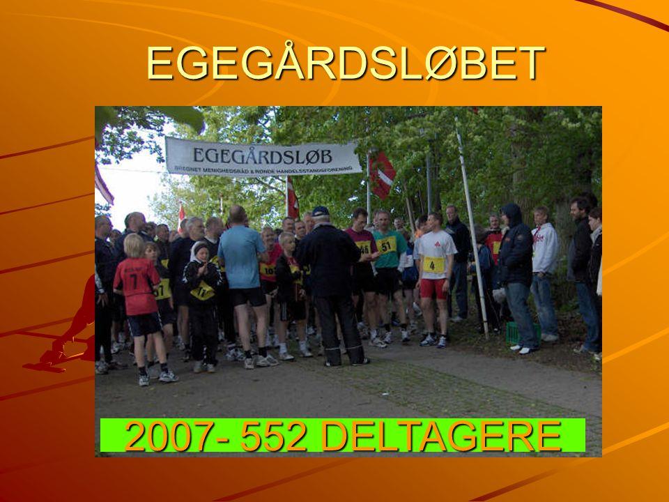 EGEGÅRDSLØBET 2007- 552 DELTAGERE