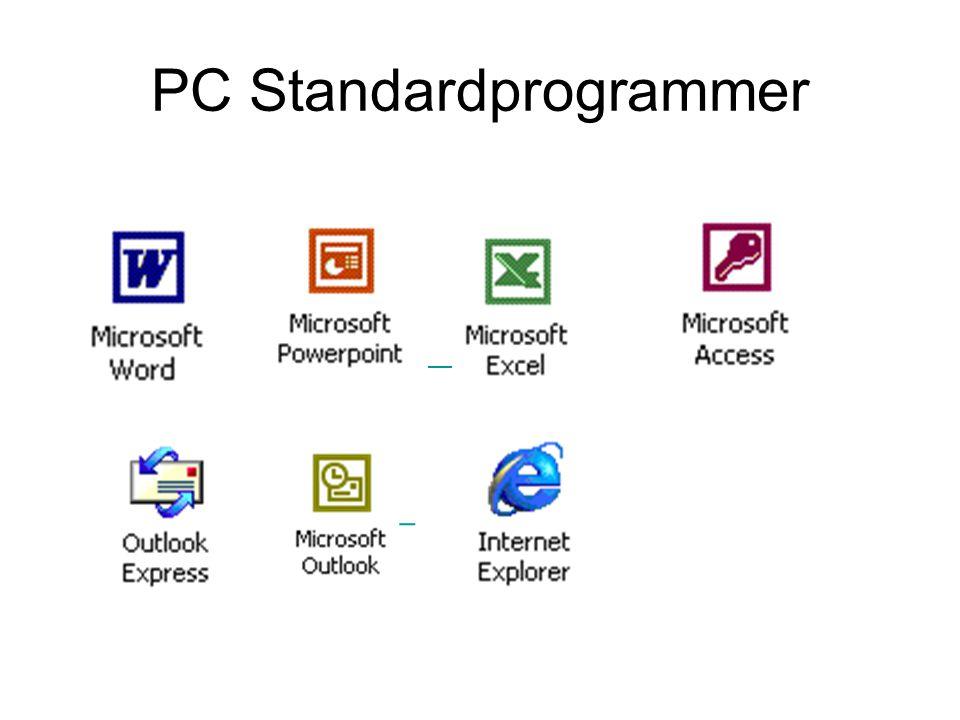 PC Standardprogrammer