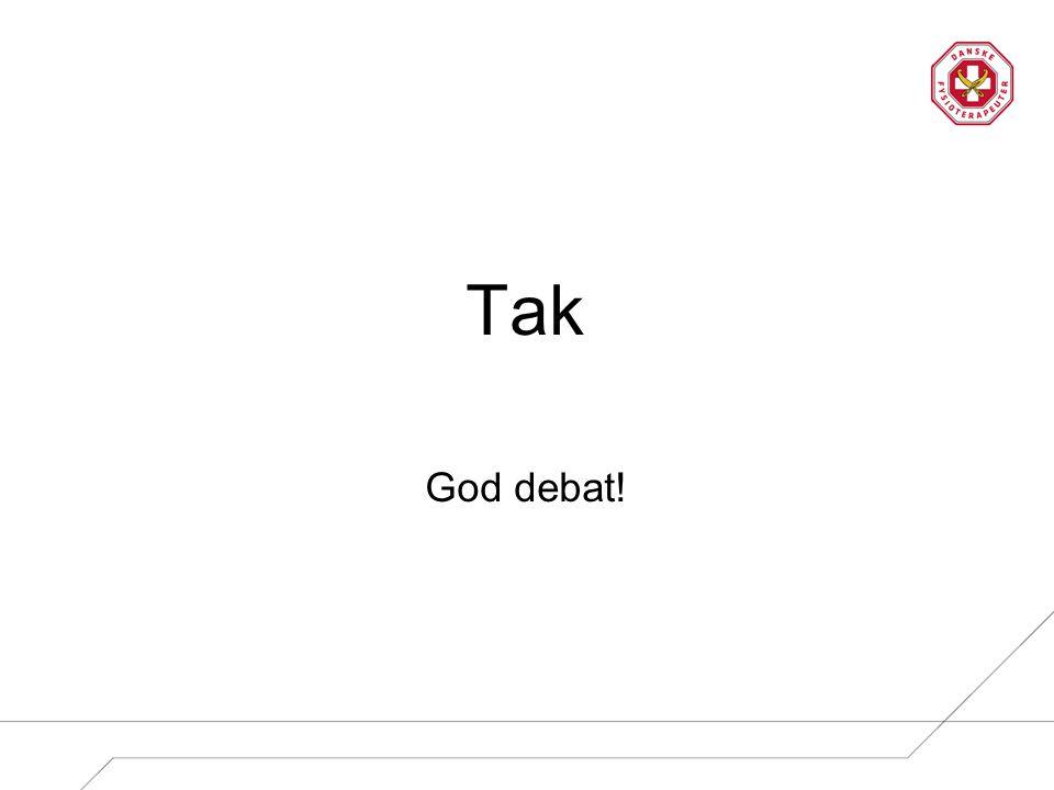Tak God debat!