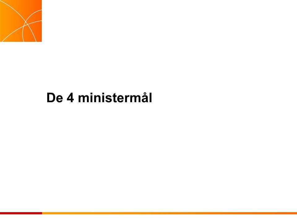De 4 ministermål