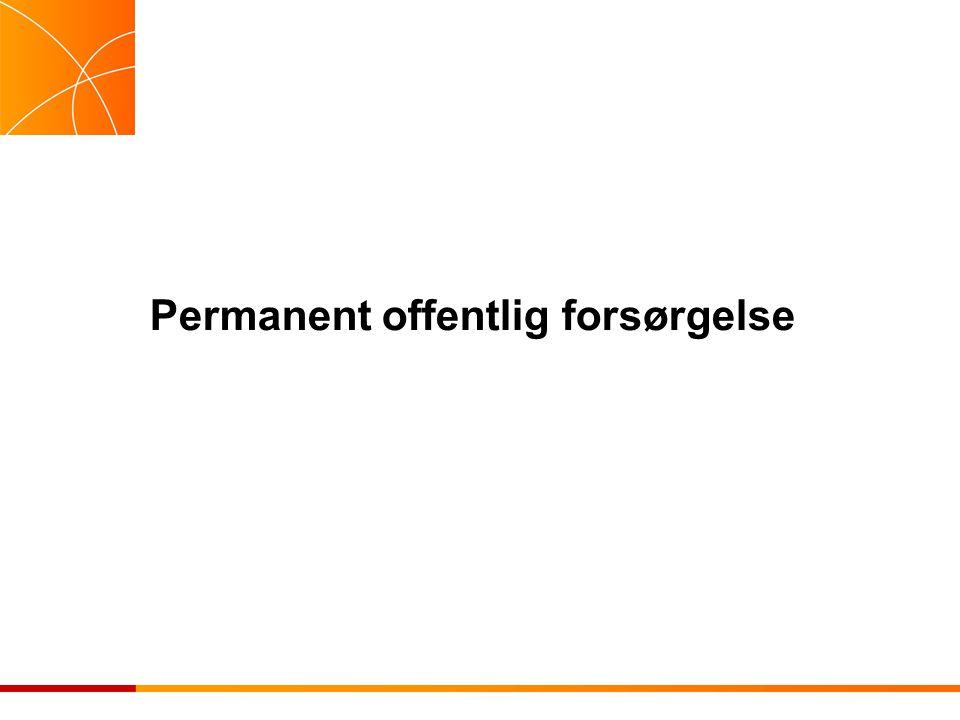 Permanent offentlig forsørgelse
