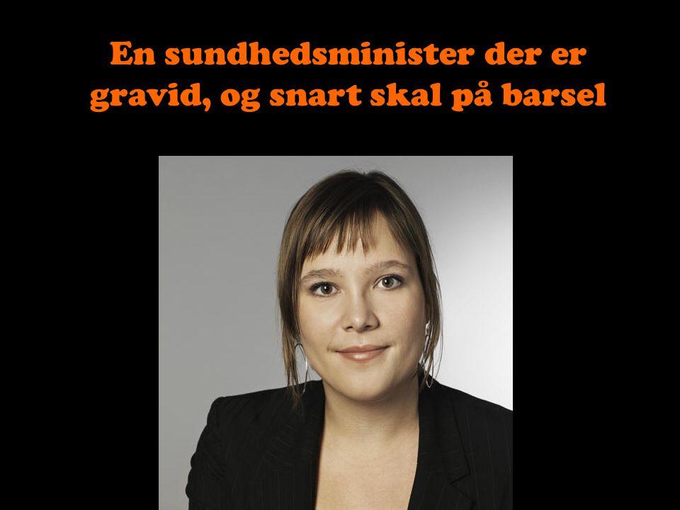 En mandlig ligestillingsminister