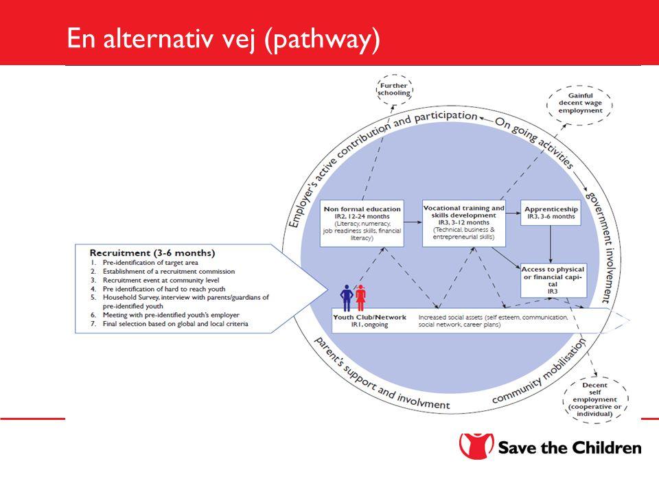 En alternativ vej (pathway)