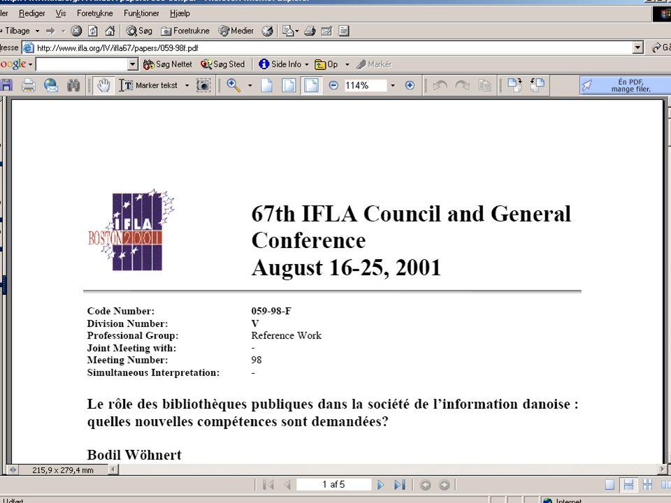 Bodil Wöhnert Fagligt Landsmøde 200514