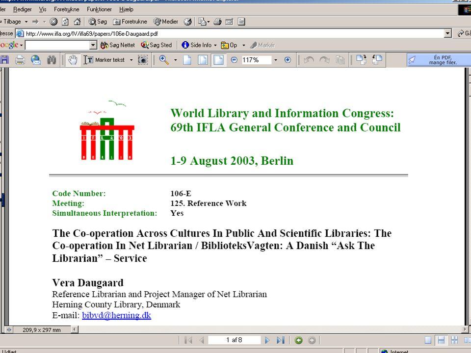 Bodil Wöhnert Fagligt Landsmøde 200517