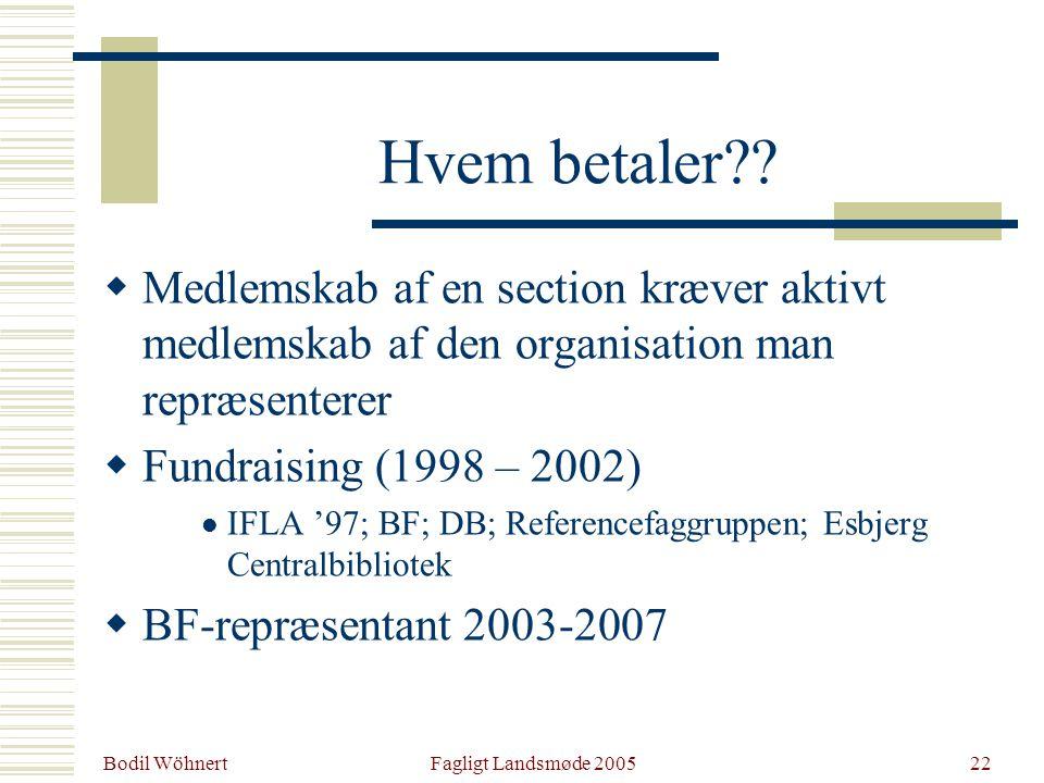 Bodil Wöhnert Fagligt Landsmøde 200522 Hvem betaler .